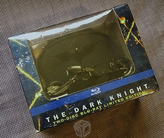 Bluray Batman The Dark Knight Ed. Limitada Moto