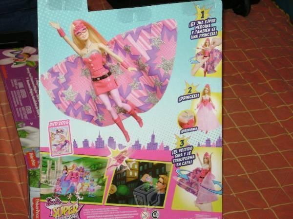 Barbie super princesa de princesa a heroína