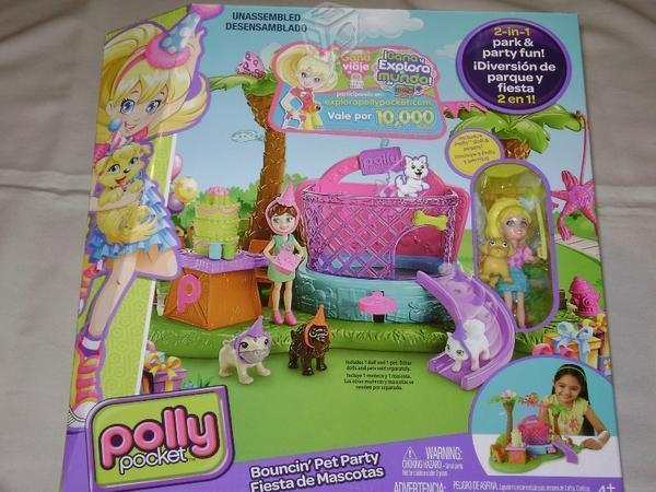 Polly pocket fiesta de mascotas