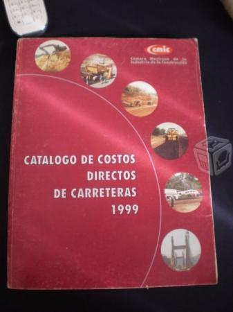Catalogo De Costos Directos De Carreteras 1999, Cm