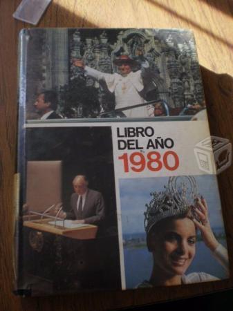 Libro Del Año 1980, Grolier