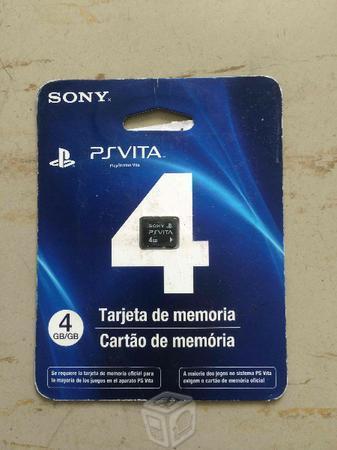 Tarjeta de Memoria Original PSVita 4 Gb