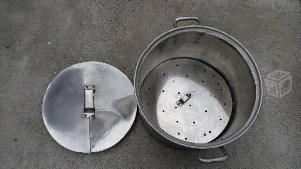 Olla para tacos al vapor grade de aluminio grueso