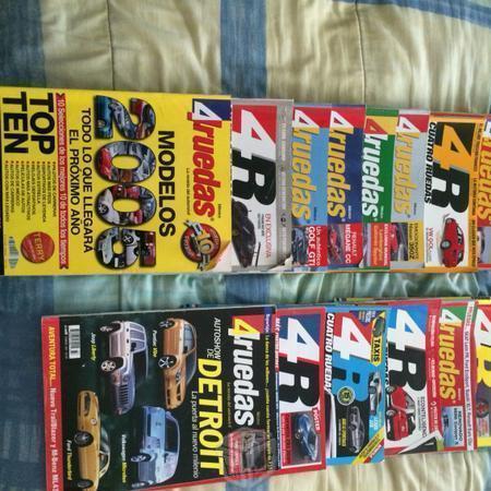 Lotes de revistas de autos