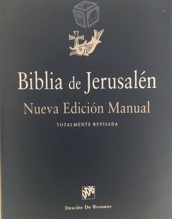 Biblia de jerusalen nueva edicion catolica