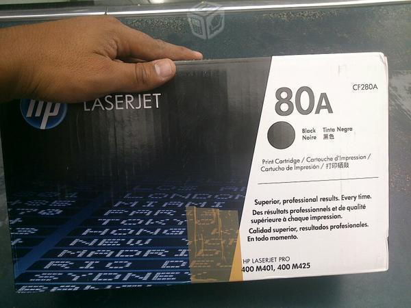 Toner Hp 80a original