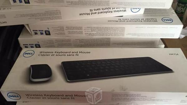 Kit wirelles dell teclado y mouse nuevos Km714