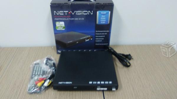 Reproductor de DVD Nuevo Net Visión NV-DVD1
