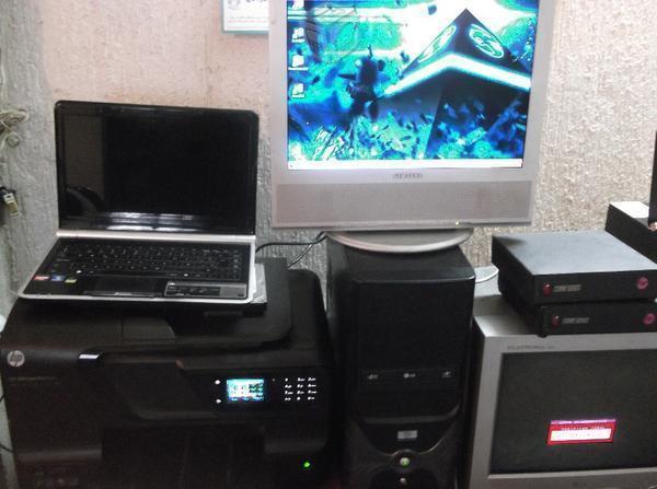 Lote Cpus Laptops Monitores Impresora varios