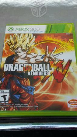 Forza horizon 2 y dragon ball xenoverse xv