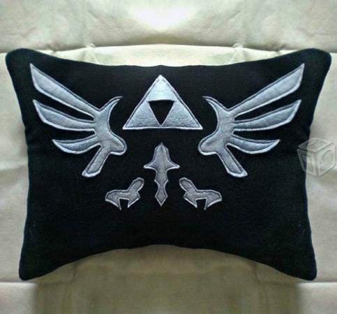 Zelda cojin trifuerza Link almohadon peluche zelda