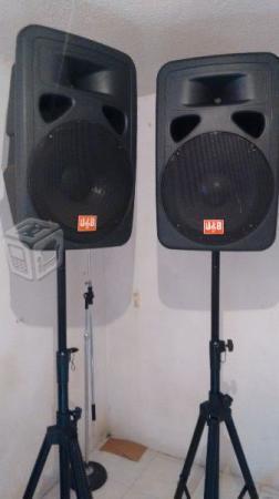 2 bocinas-amplificador j&b