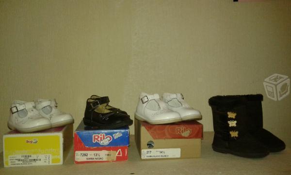 zapatos, botas y tenis