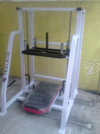 Gimnasio leg press vertical