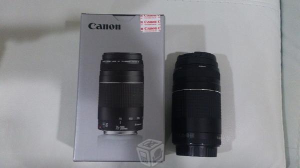Lente Canon 75-300mm f/4-5,6 III