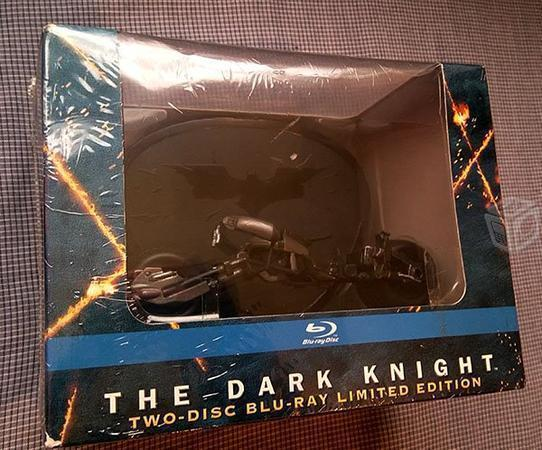 Batman The Dark Knight Bluray Edicion con Moto