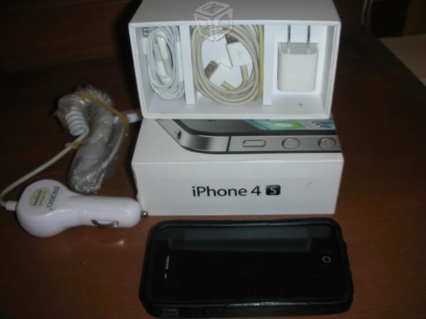 IPhone 4S Apple 16GB Seminuevo Negro