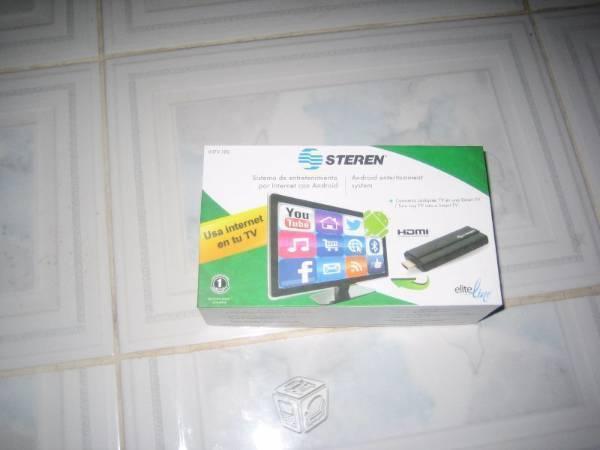 Sistema de tv por internet con android control r