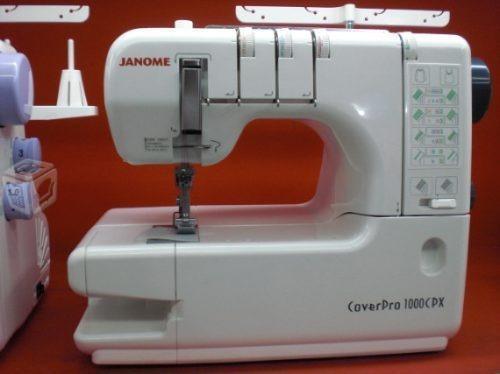 Máquinas Collareteras Janome 1000 cpx *Nuevas