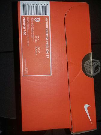Tenis nike hypervenoomm originales en caja v/c