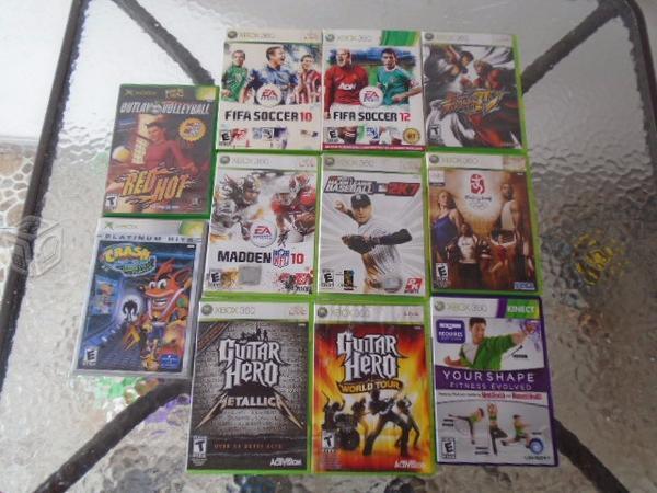 Discos de Xbox360, Varios titulos