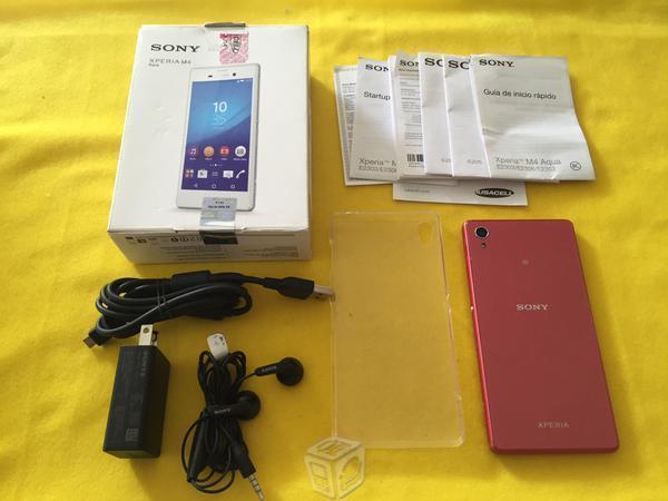 Sony Xperia M4 Aqua,Iusacell ,AT&T, excelente