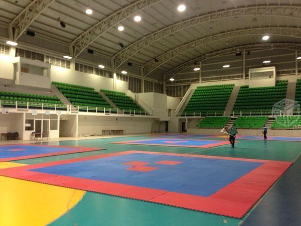 Pisos Tatami para Taekwondo/Artes marciales
