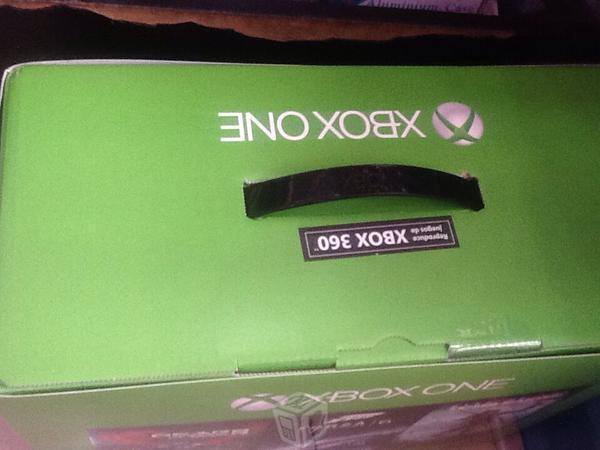 X box One sellado