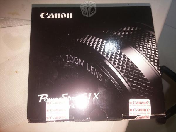 Camara Cannon G1 X Mark ii