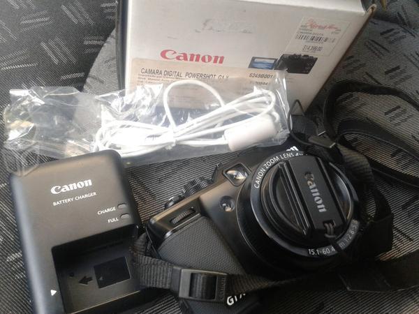 Camara digital canon g1x