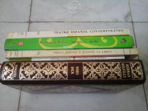 LOTE 5 Libros de Literatura con 15 Novelas