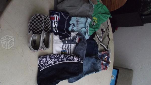 Completo lote de ropa para niño talla 6