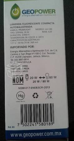FOCOS AHORRADORES OFERTA, ESPIRAL Y LED 25 y 65