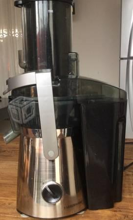 Extractor de jugos faberware