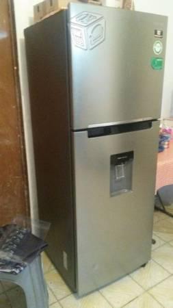 Refrigerador Samsung acero inoxidable