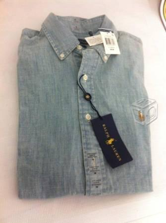 Camisas ralph lauren manga larga talla m