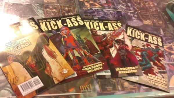 Marvel Comics / Ikon Kick Ass Coleccion Completa