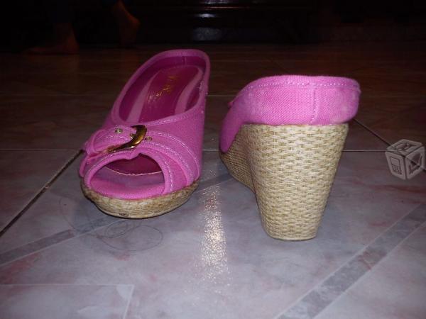 Zapatilla Para Dama moda casual color rosa