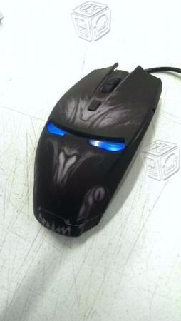 Mouse Gamer Iluminado Luz Led Usb Optico Eagle War
