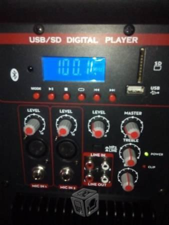 Bafle amplificado kaiser 15