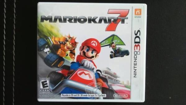 Mario Kart 7 Nintendo 3DS XL