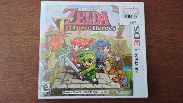 Zelda Tri Force Heroes Nintendo 3DS XL Nuevo