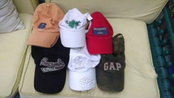 Gorras varias marcas americanas