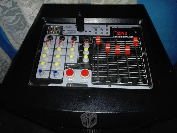 Bafle amplificado