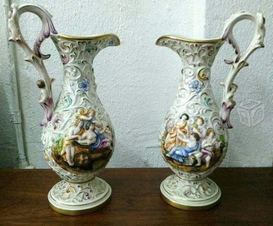 Jarrones pintados a mano brick7 venta for Porcelana italiana