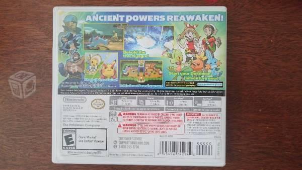 Pokemon Alfa Zafiro Nintendo 3DS XL