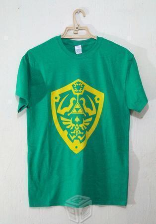 Playeras Zelda (Hyrule Shield)