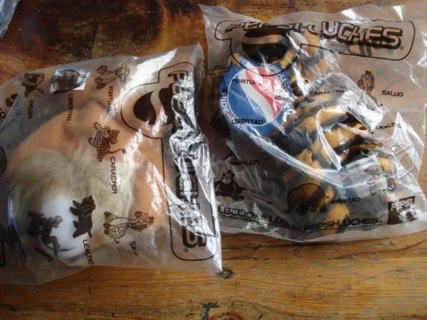 Pepsiluches empacados