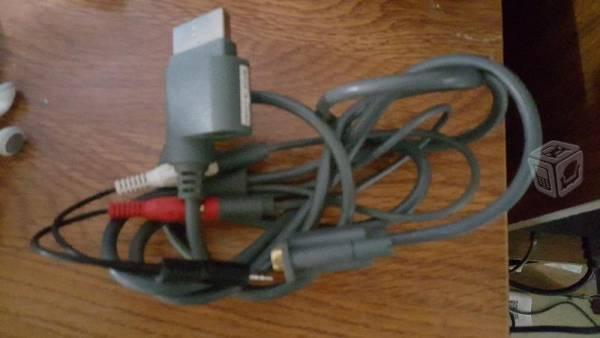 Cable de audio y Video Xbox360 para Monitor VGA