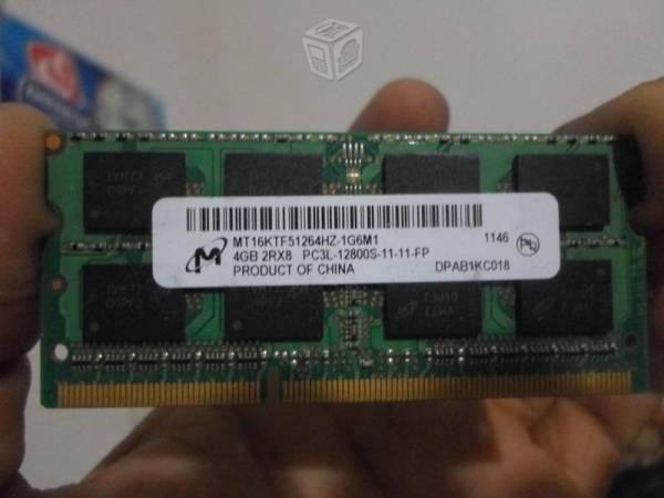 2 memorias ram 4 gb ddr3